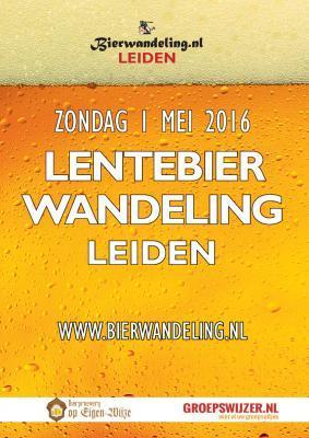 Lentebierwandeling Leiden