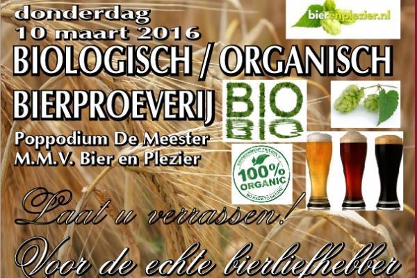 biologisch/organisch bierproeverij Almere