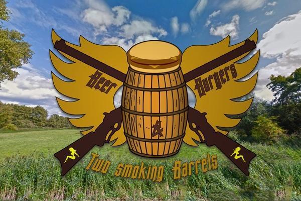 Beer, Burgers & Two Smoking Barrels
