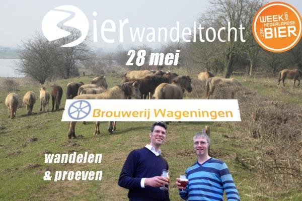 Bierwandeltocht brouwerij Wageningen
