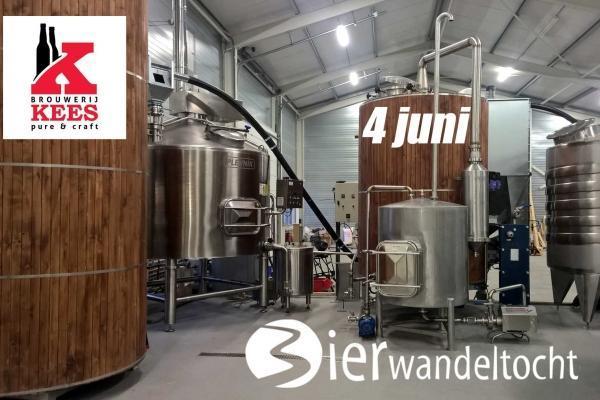 Bierwandeltocht Brouwerij Kees
