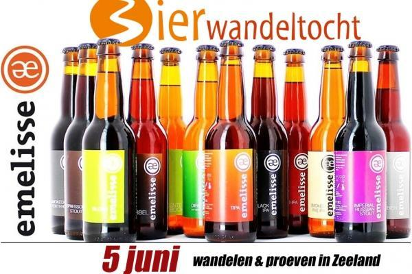 Bierwandeltocht brouwerij Emelisse