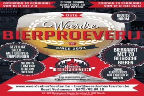 8ste Weerdse Bierproeverij