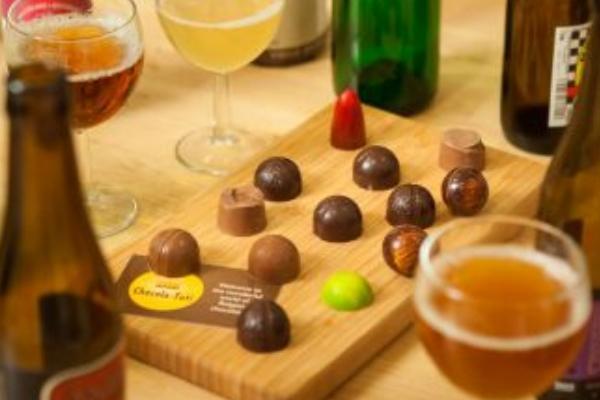 Bier en Chocolade proeverij