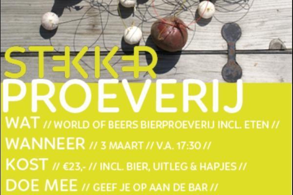 Bierproeverij World of Beers