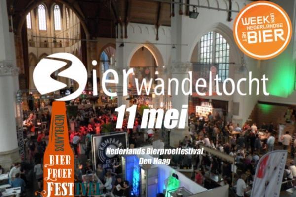 Bierwandeltocht Nederlands Bierproeffestival