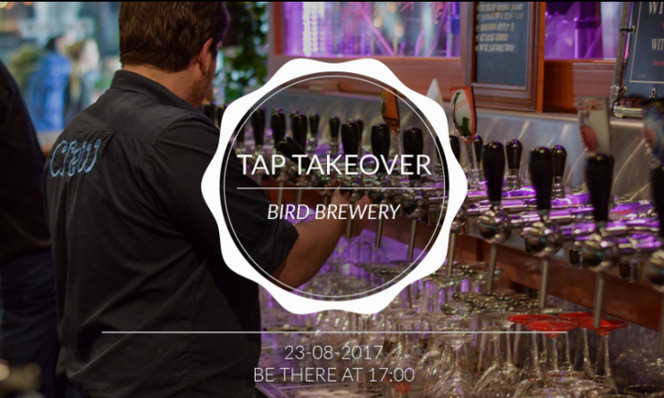 Tap Takeover - Bird Brewery Amsterdam