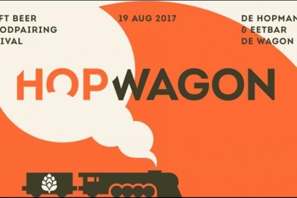Craft beer  foodpairing festival Hopwagon