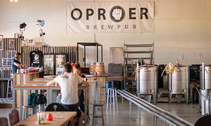Brouwerij oproer header
