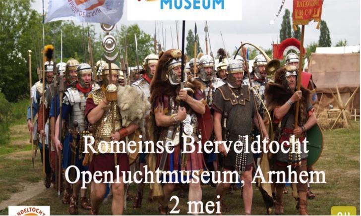 Romeinse Bierveldtocht Openluchtmuseum