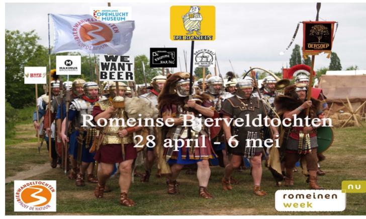 Romeinse Bierveldtocht BurgBieren
