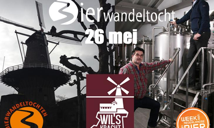 Bierwandeltocht brouwerij Wilskracht