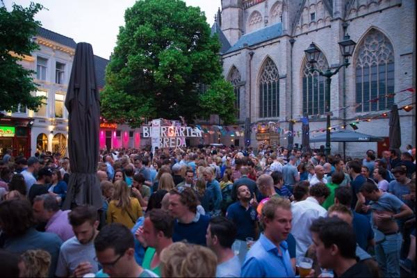 Biergarten Breda Zomerfestival: De Opening