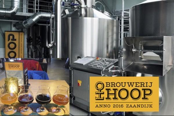 Bierwandeltocht brouwerij Hoop/Breugem