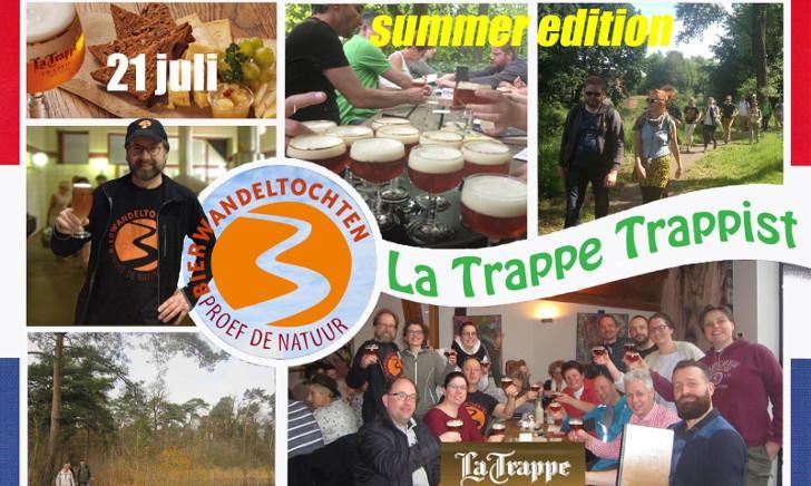 Bierwandeltocht La Trappe Trappist
