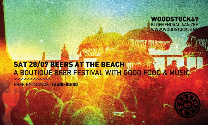 Beers @ the beach at Woodstock'69!