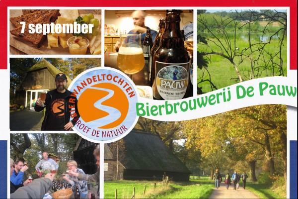 Bierwandeltocht brouwerij De Pauw