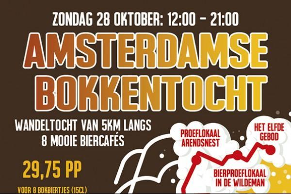 Amsterdamse Bokkentocht op zondag 28 oktober
