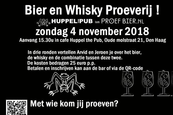 Bier en Whisky Proeverij
