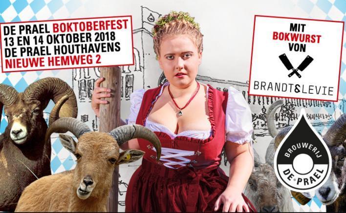Foto van Boktoberfest 2018 bij Brouwerij De Prael