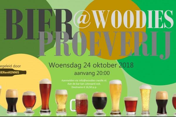 Bierproeverij@woodies