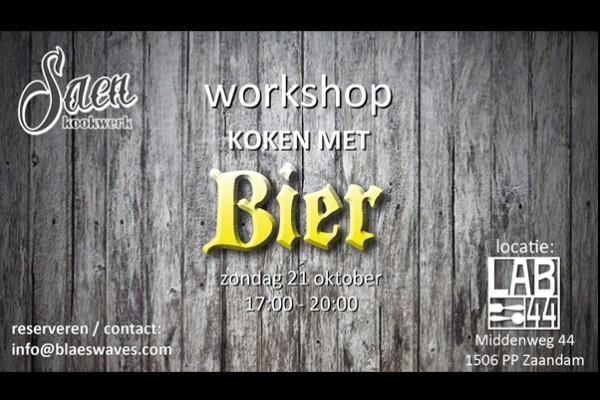 Workshop Koken Met Bier