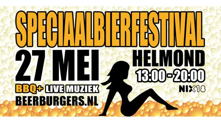 Bierfestival Beer, Burgers and two smoking barrels
