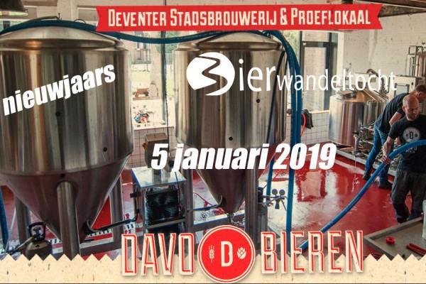Nieuwjaars Bierwandeltocht DAVO