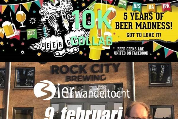 Beer Geek Hike 10k - 4 ALS Rock City Brewing