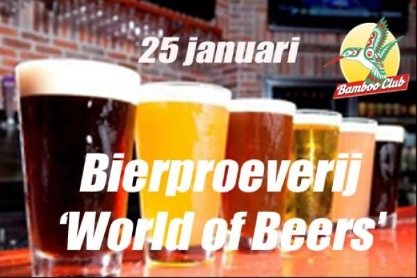 Bierproeverij World of Beers