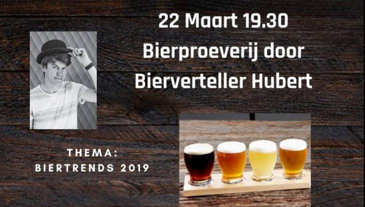 Bierproeverij Biertrends 2019