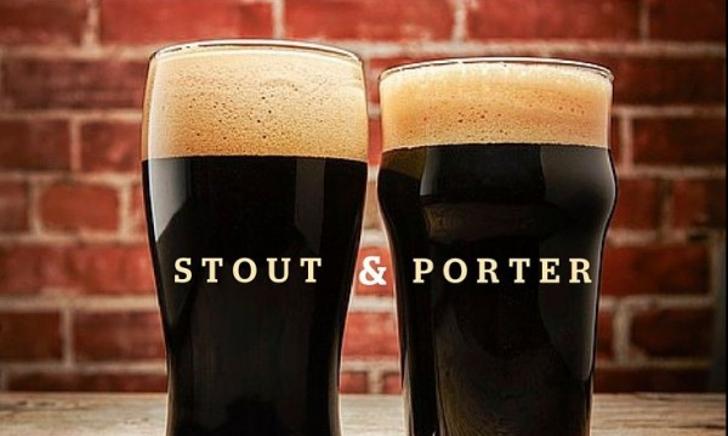 Stout en Porter proeverij