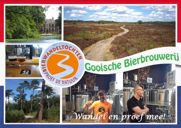 Bierwandeltocht Gooische Bierbrouwerij