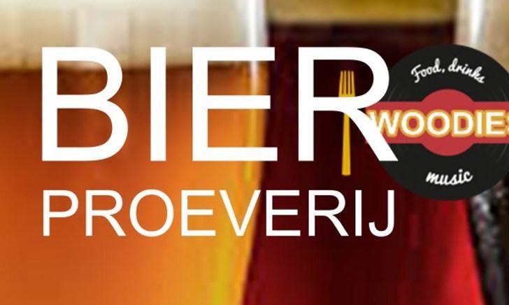 Bierproeverij bij Woodies