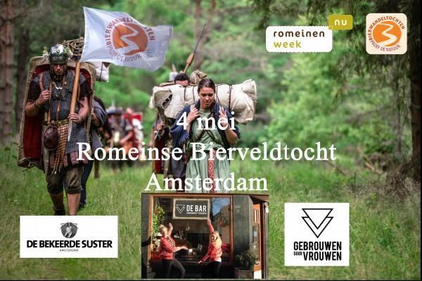 Romeinse Bierveldtocht Gebrouwen door Vrouwen