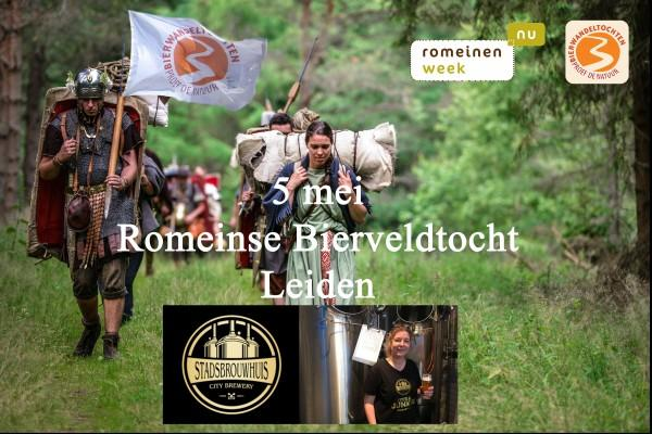 Romeinse Bierveldtocht Stadsbrouwhuis Leiden