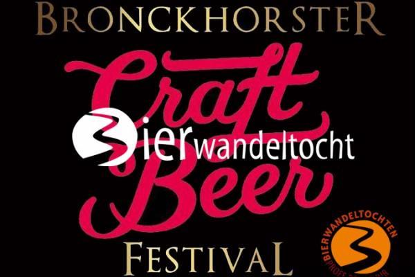 Bierwandeltocht Bronckhorster Craft Beer Festival