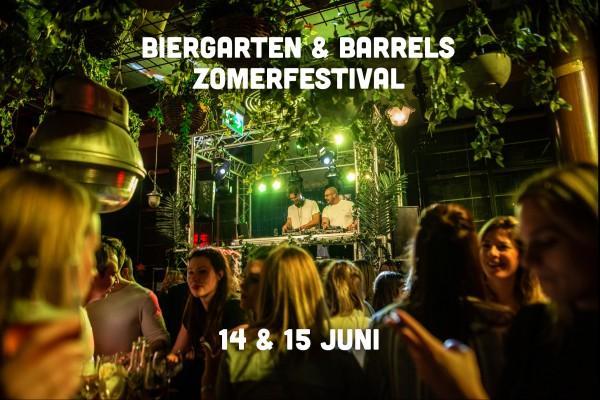Biergarten & Barrels Zomerfestival