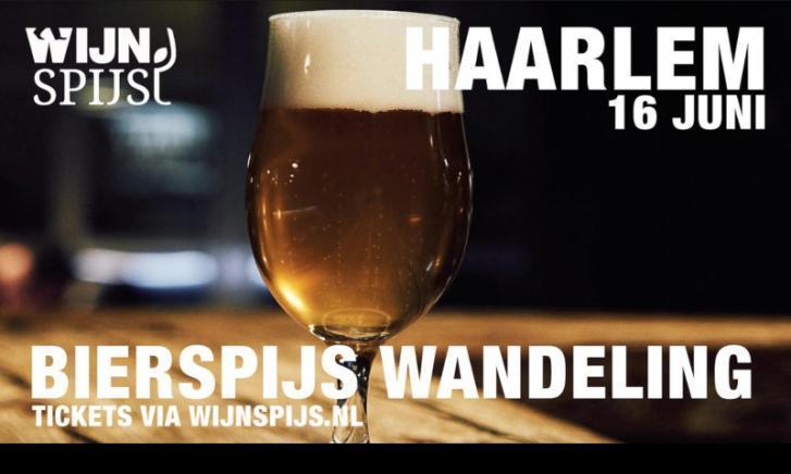 BierSpijs Wandeling Haarlem