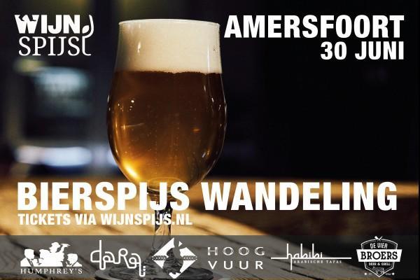 BierSpijs Wandeling Amersfoort