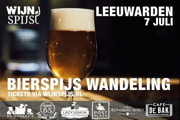 BierSpijs Wandeling Leeuwarden