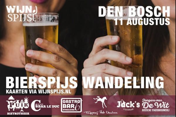 BierSpijs Wandeling Den Bosch
