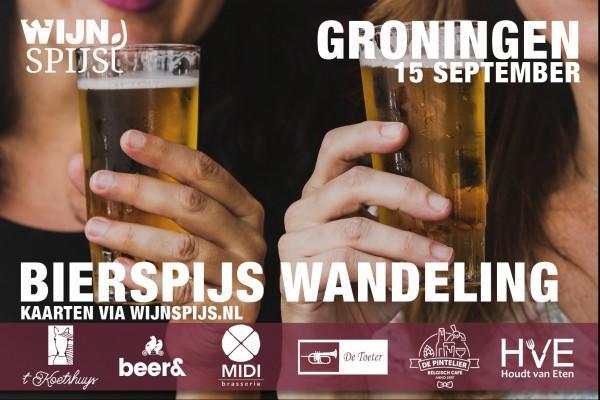 BierSpijs Wandeling Groningen