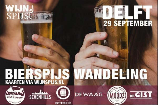 BierSpijs Wandeling Delft