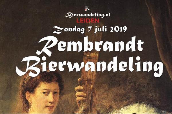 Rembrandt Bierwandeling Leiden
