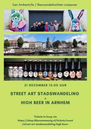 Stadswandeling en high beer bierproeverij in Arnhem