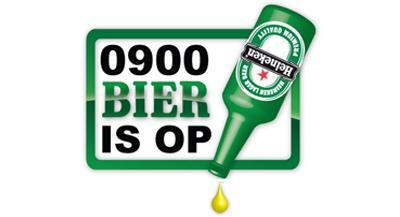 Bier is op logo