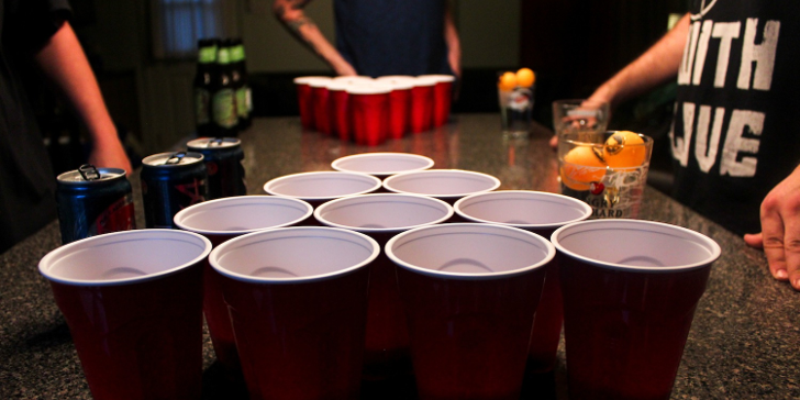 Beer pong Nude Photos 24