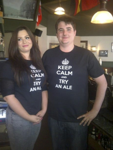 Keep Calm and Try an Ale T-shirt