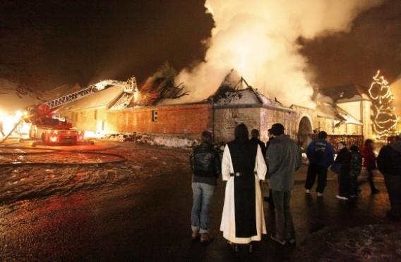 Brand in Belgische trapistenabdij Rochefort | biernet.nl